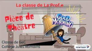 """""""Dormez je le veux !"""" de Feydeau animé par Powtoon"""
