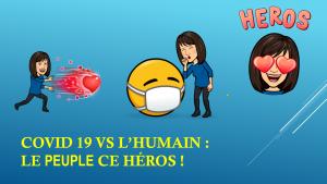 Faire argumenter les élèves de 5e : Covid VS héros