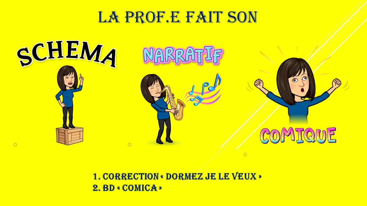 """6e : Créer une BD avec """"Comica"""""""