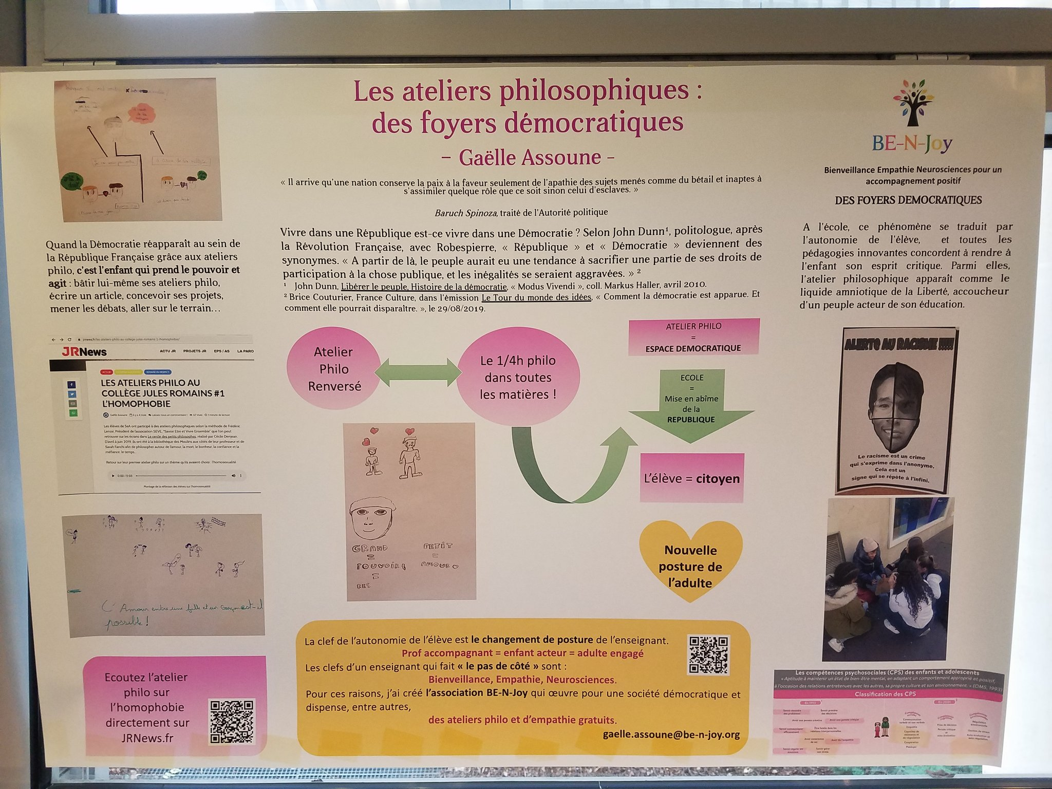 La neuroéducation, les compétences socio-émotionnelles et la philosophie